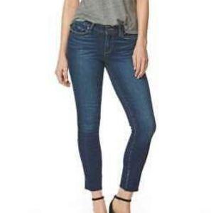 Paige Jeans Skyline Ankle Peg Raw Hem size 26